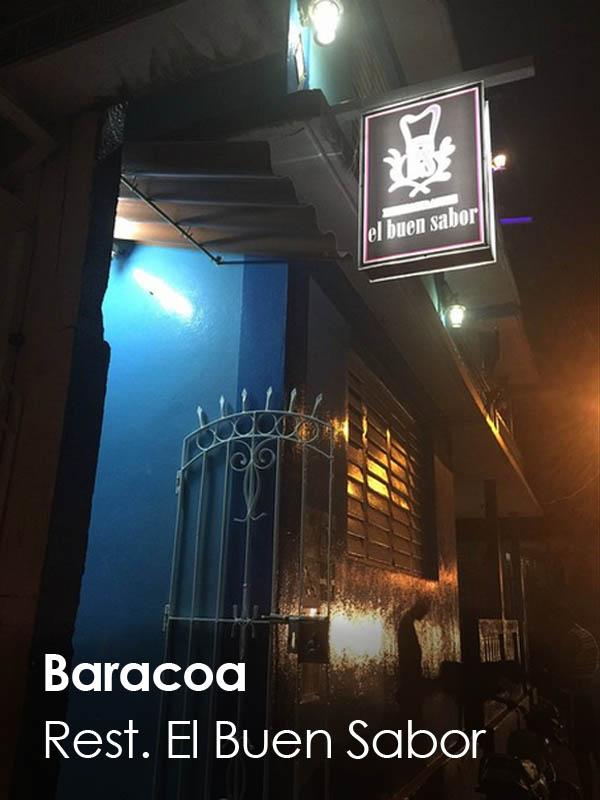 Baracoa - El Buen Sabor