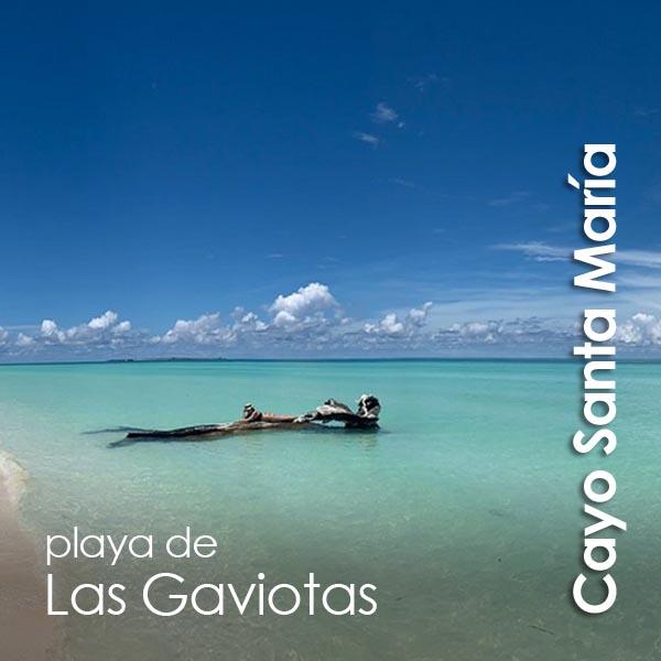 Cayo Santa Maria - playa de las Gaviotas