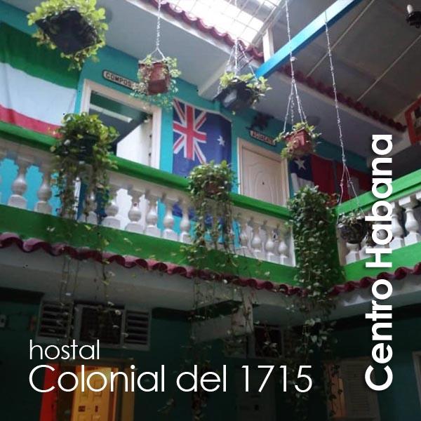 Centro Habana - Colonial del 1715