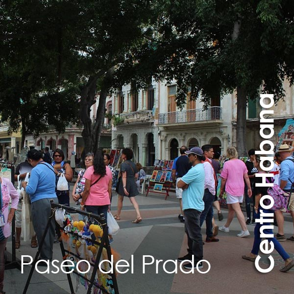 Centro Habana - Paseo del Prado