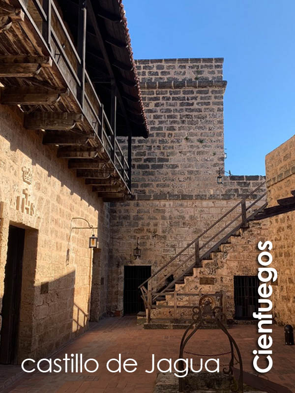 Cienfuegos - castillo de Jagua