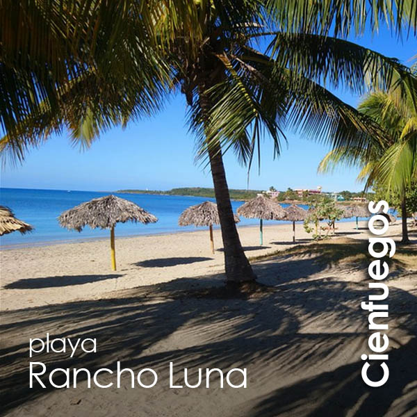 Cienfuegos - playa Rancho Luna