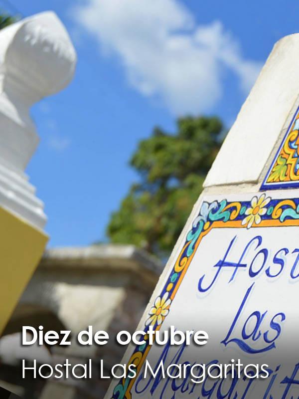 Diez de Octubre - Hostal Las Margaritas