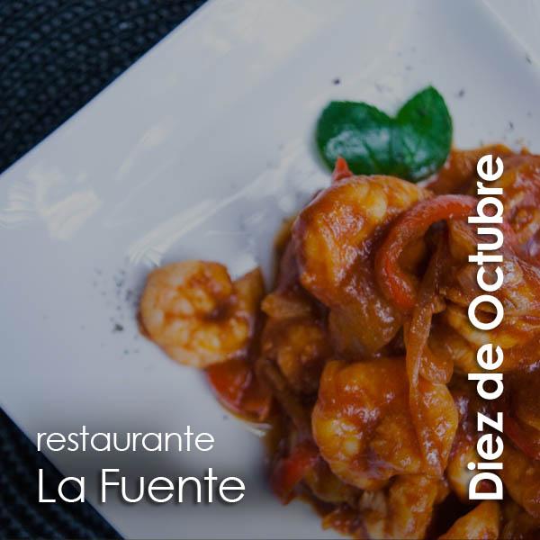 Diez de Octubre - Restaurante La Fuente