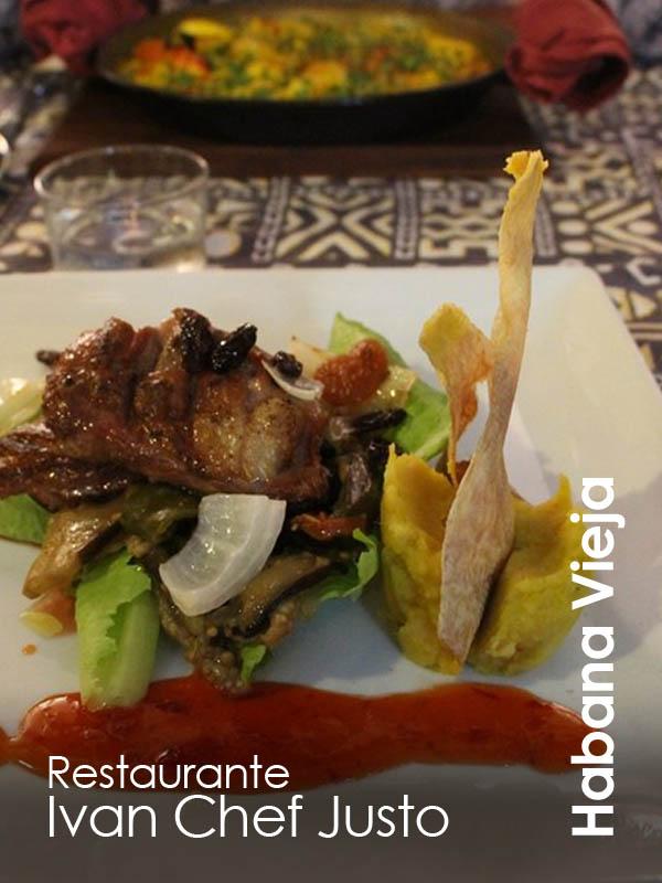 Habana Vieja - restaurant Ivan Chef Justo
