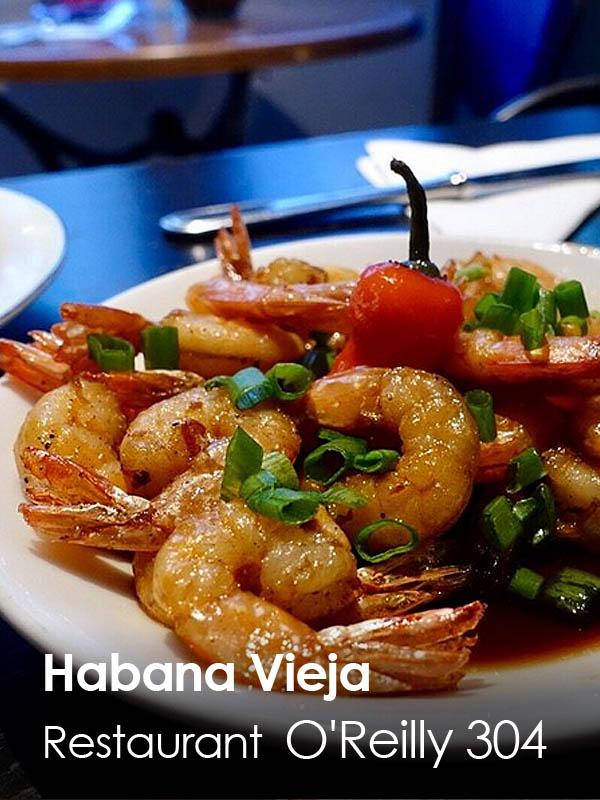 Habana Vieja - restaurante O'Reilly 304
