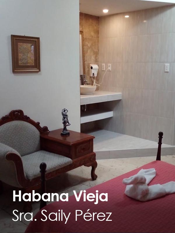 Habana Vieja - Sra. Saily Perez