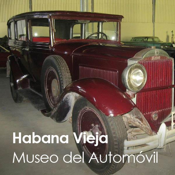 La Habana - Habana Vieja - Museo del Automovil