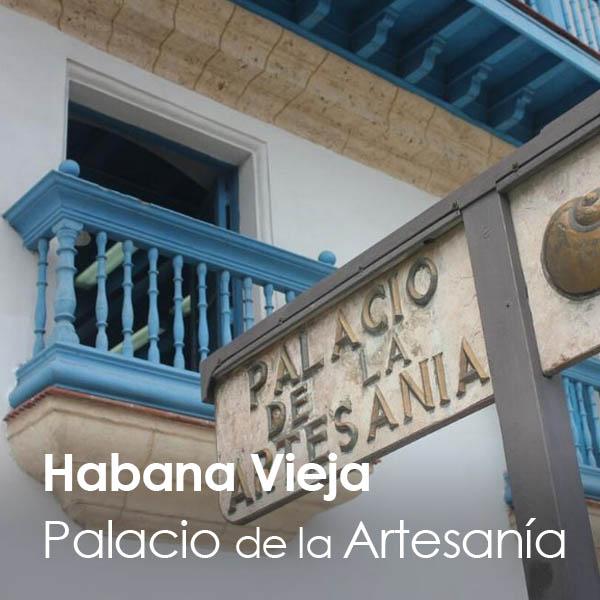 La Habana - Habana Vieja - Palacio de la Artesanía