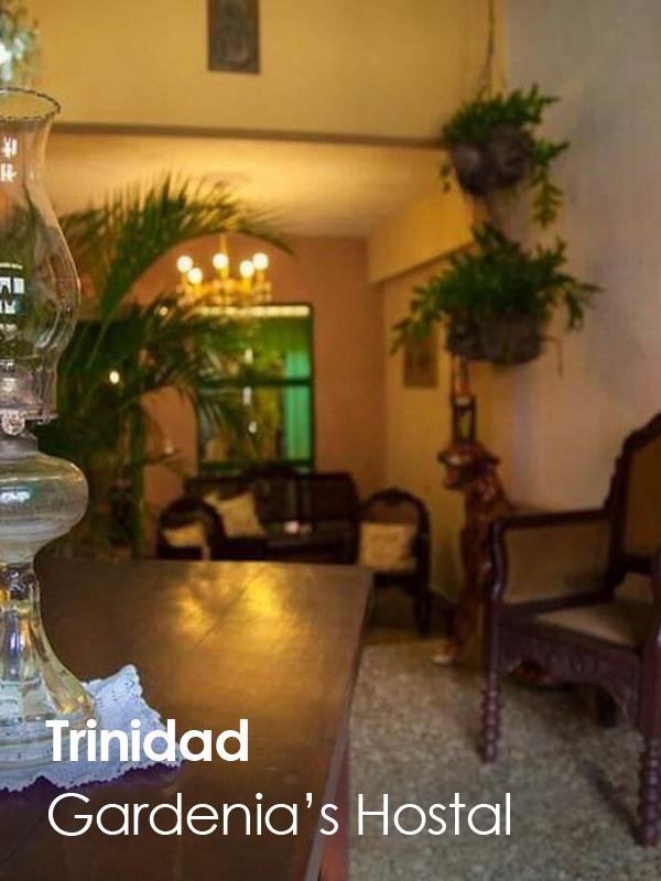 MaxiCUBA - Gardenia's Hostal TRINIDAD