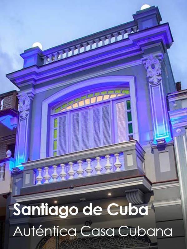 Santiago de Cuba - ACA Auténtica Casa Antigua