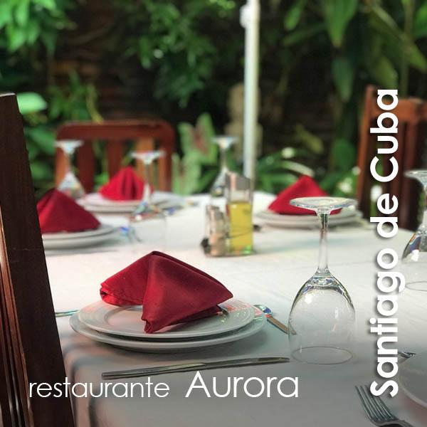 Santiago de Cuba - restaurante Aurora