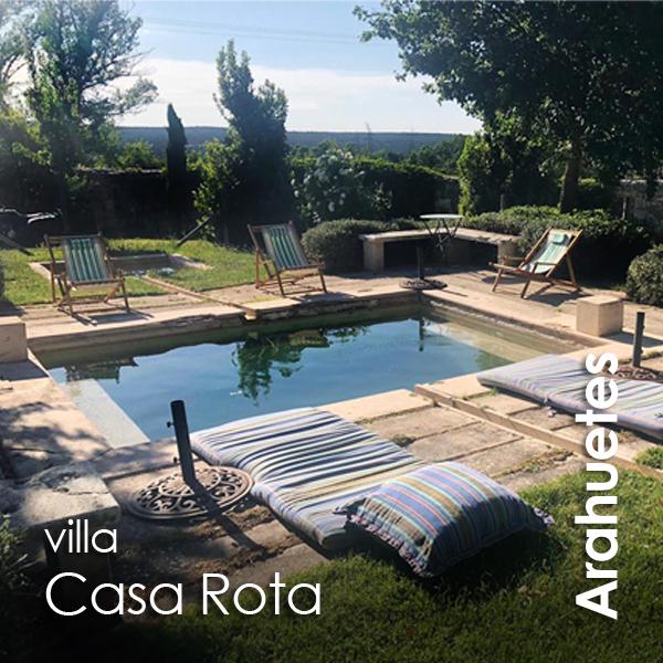 Arahuetes - Villa Casa Rota