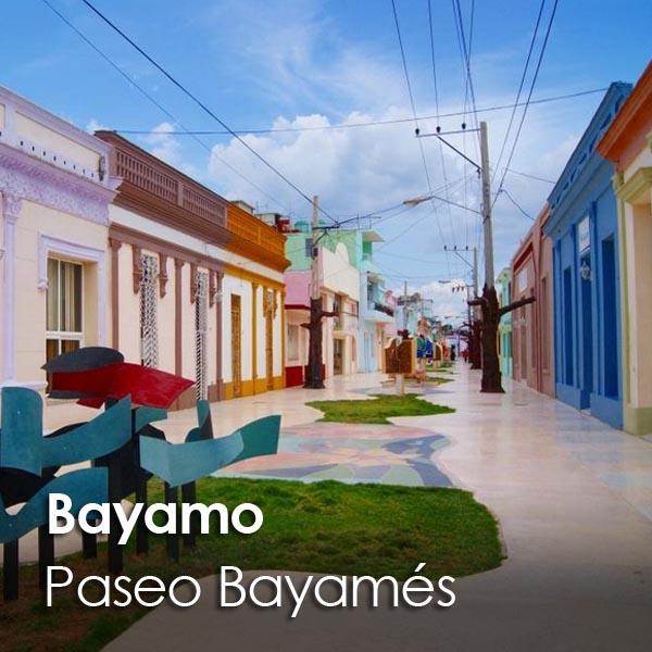 Bayamo - Paseo Bayames