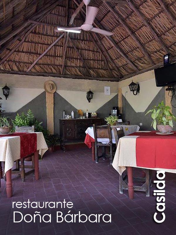 Casilda - restaurante Dona Barbara