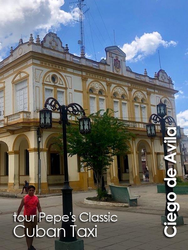 Ciego de Avila - Pepe's Classic Cuban Taxi
