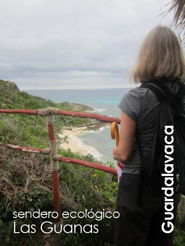 Guardalavaca - Las Guanas sendero eco arqueologico