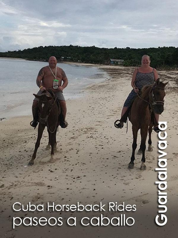 Guardalavaca - paseos a caballo Cuba Horseback Rides