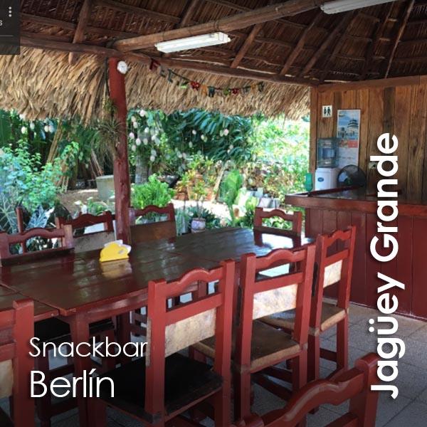 Jaguey Grande - Snackbar Berlin