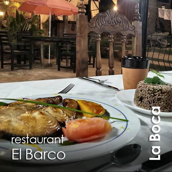 La Boca - restaurante El Barco