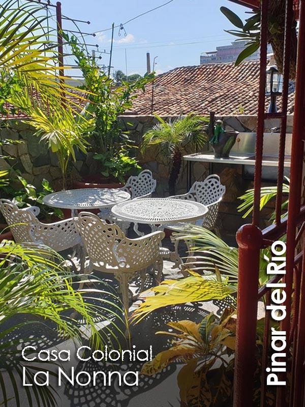 Pinar del Rio - Casa colonial La Nonna