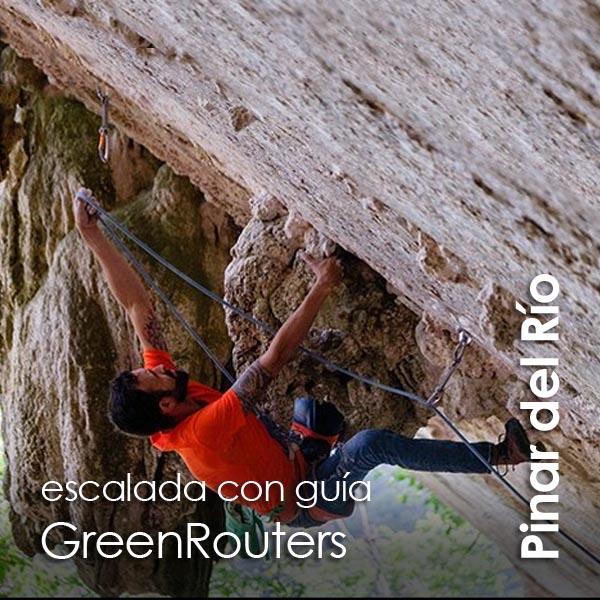 Pinar del Rio - Escalada con guia GreenRouters