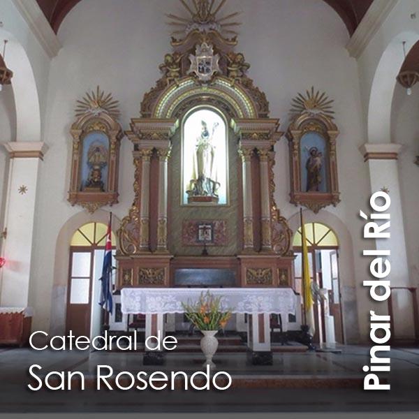 Pinar del Rio - catedral de San Rosendo