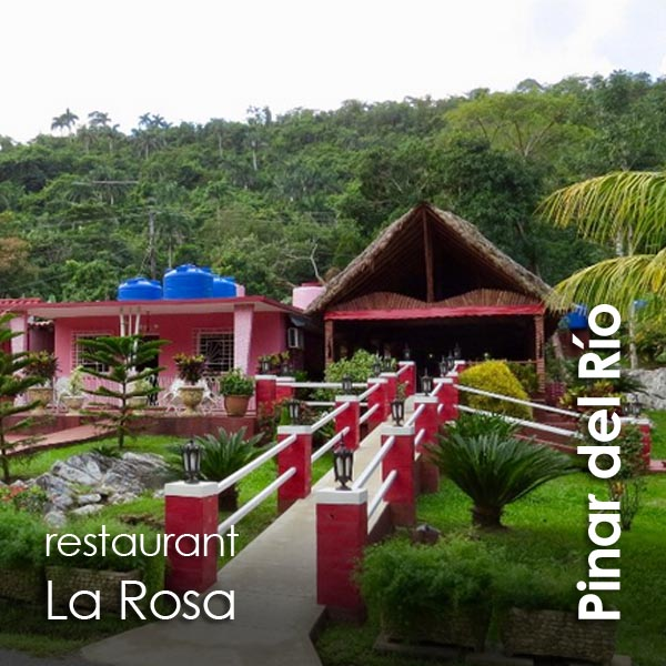 Pinar del Rio - restaurante La Rosa