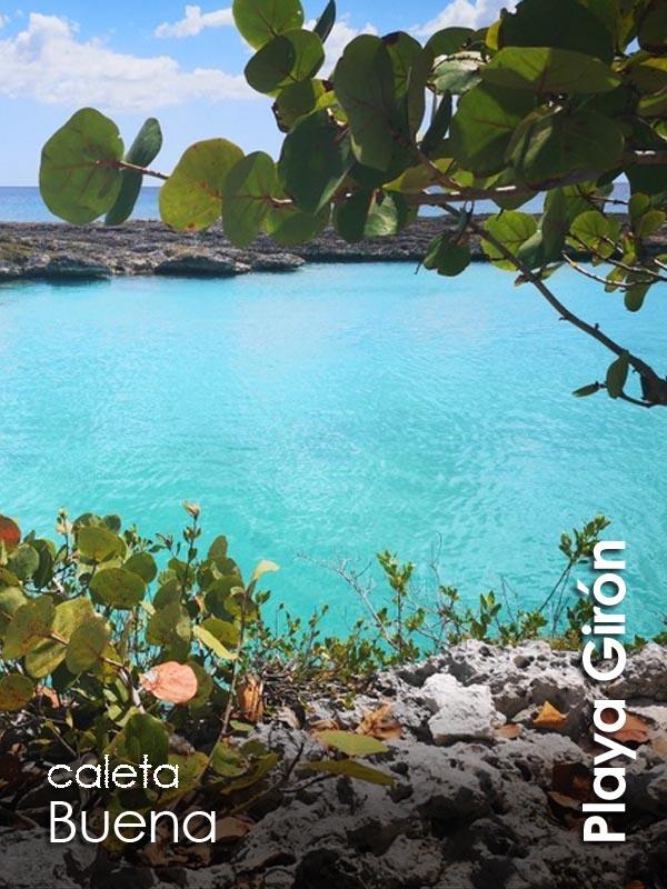Playa Giron - caleta Buena