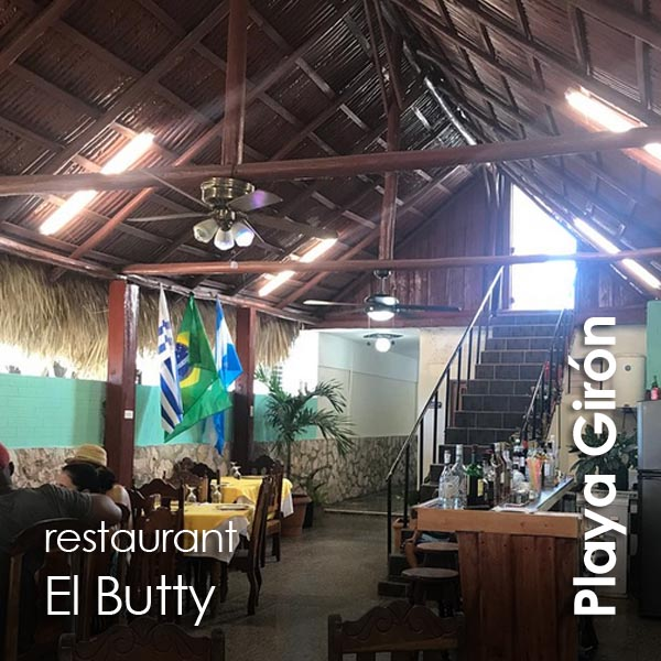 Playa Giron - restaurante El Butty