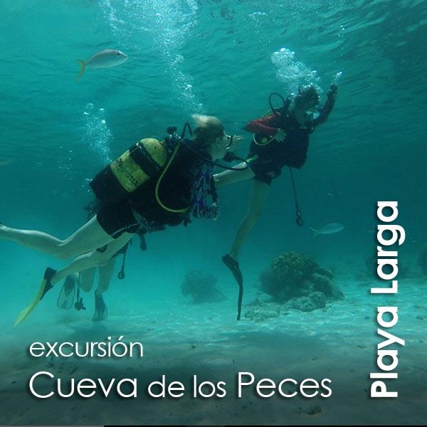 Playa Larga - Cueva de los Peces