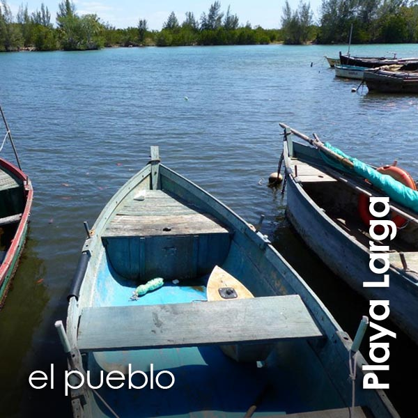 Playa Larga - el pueblo