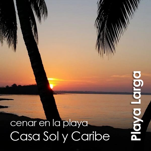 Playa Larga - restaurante Casa Sol y Caribe