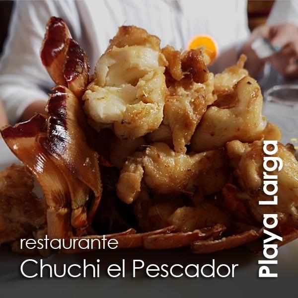 Playa Larga - restaurante Chuchi el Pescador