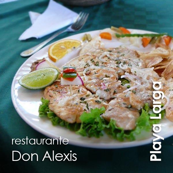 Playa Larga - restaurante Don Alexis
