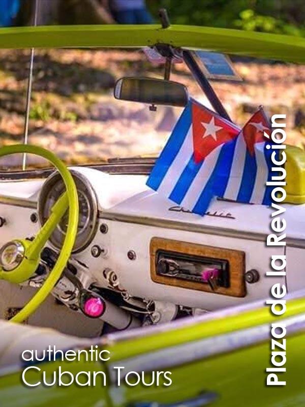Plaza de la Revolucion - Authentic Cuban Tours