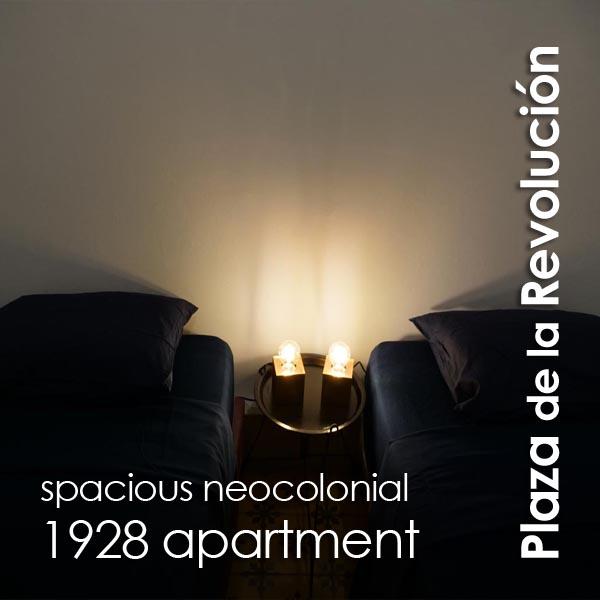 Plaza de la Revolucion - Spacious Neocolonial 1928 Apartment