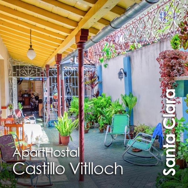 Santa Clara - ApartHostal Castillo Vitlloch