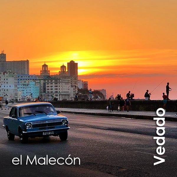 Vedado - el Malecon 2