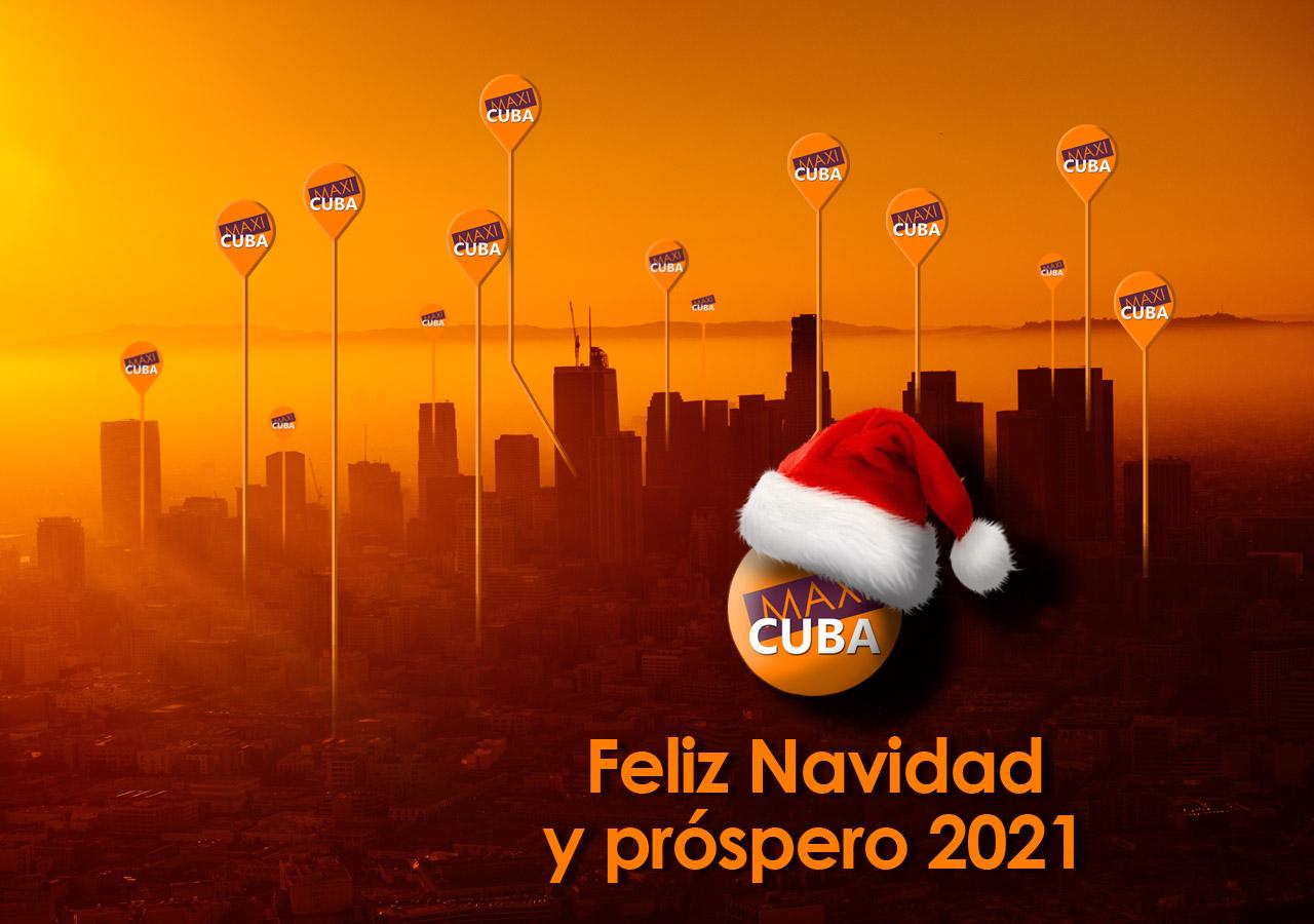 Feliz Navidad y Prospero 2021 (Maxicuba)