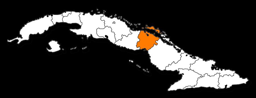 Mapa provincia de Ciego de Avila