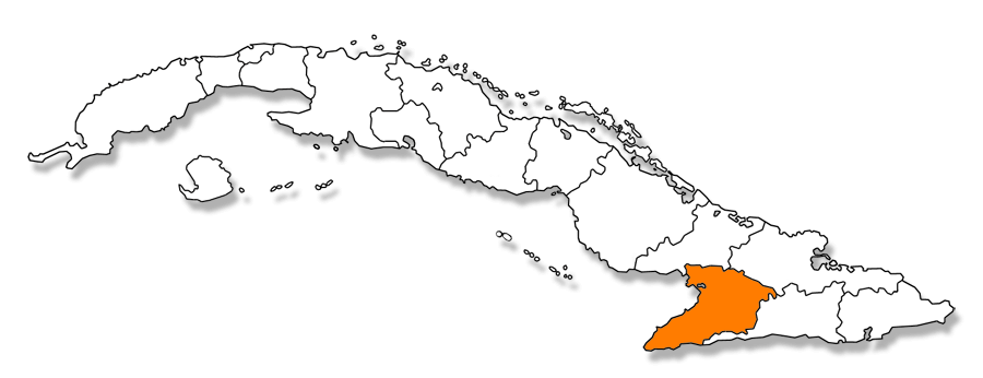 Mapa provincial de Granma